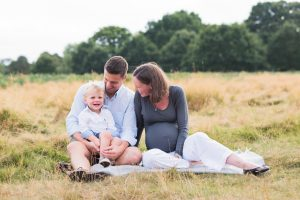 Surrey family and maternity photography session in Bushy Park