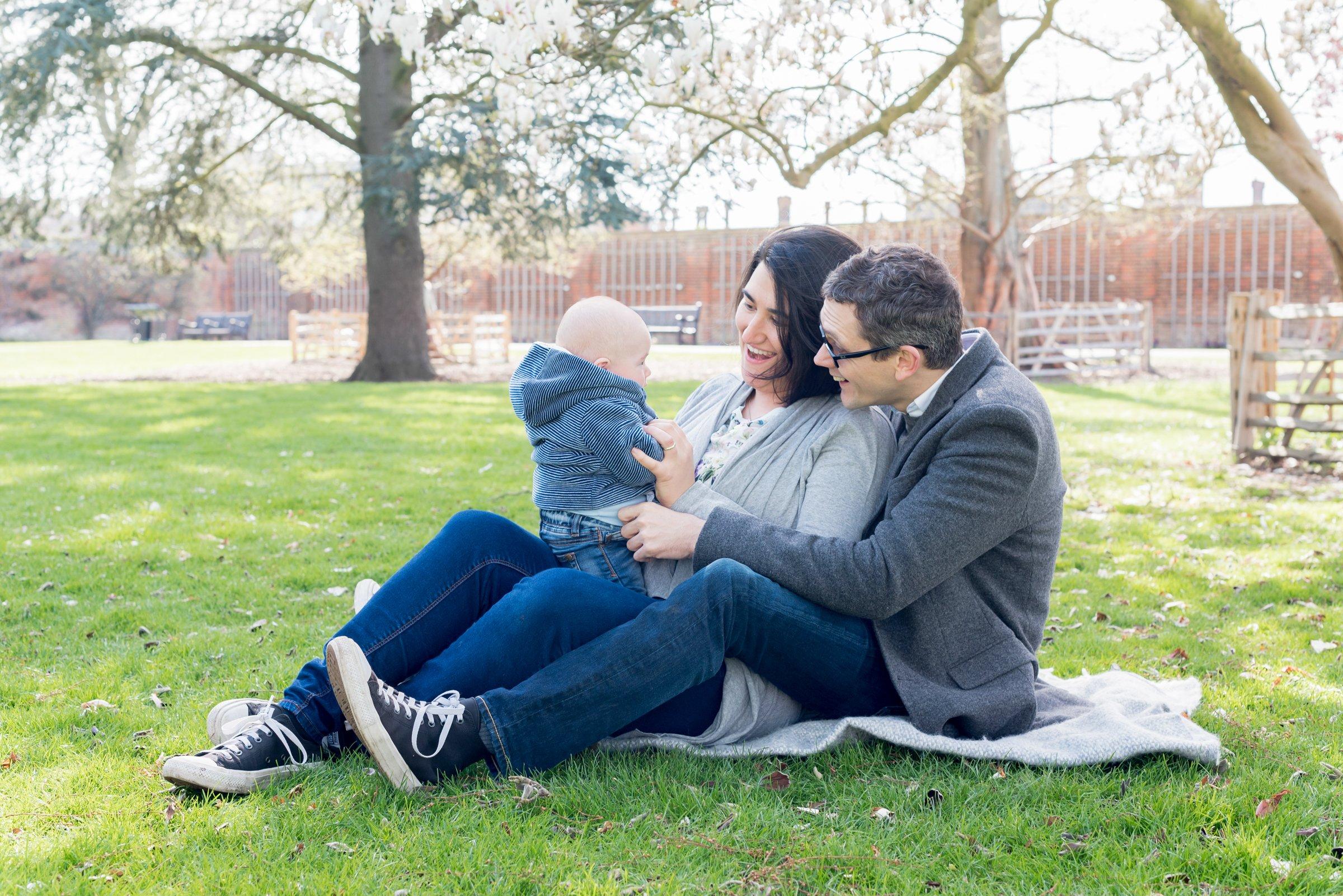 Epsom, Surrey Family Portrait Photographer | Clare Murthy Photography