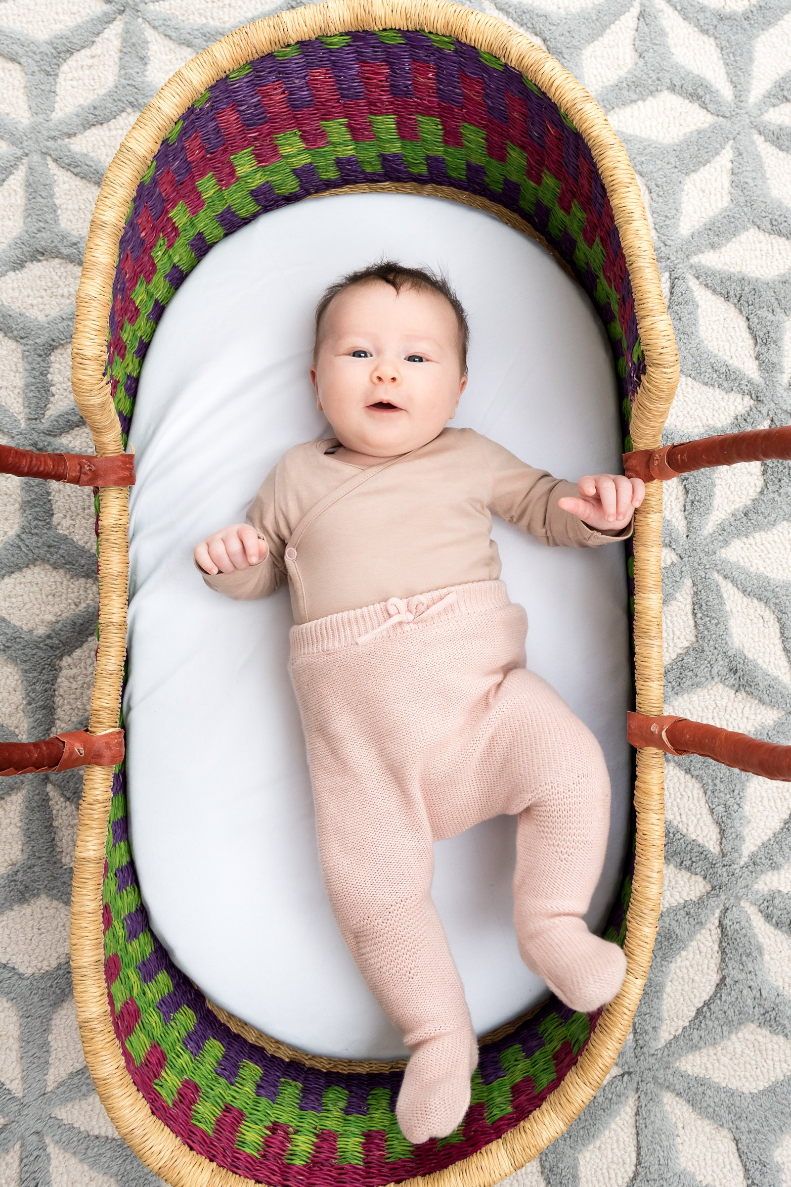 3 month old baby photography at home