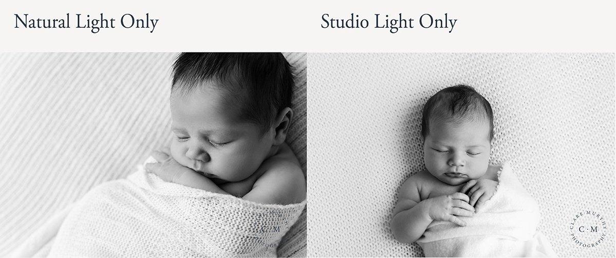 natural light vs studio light