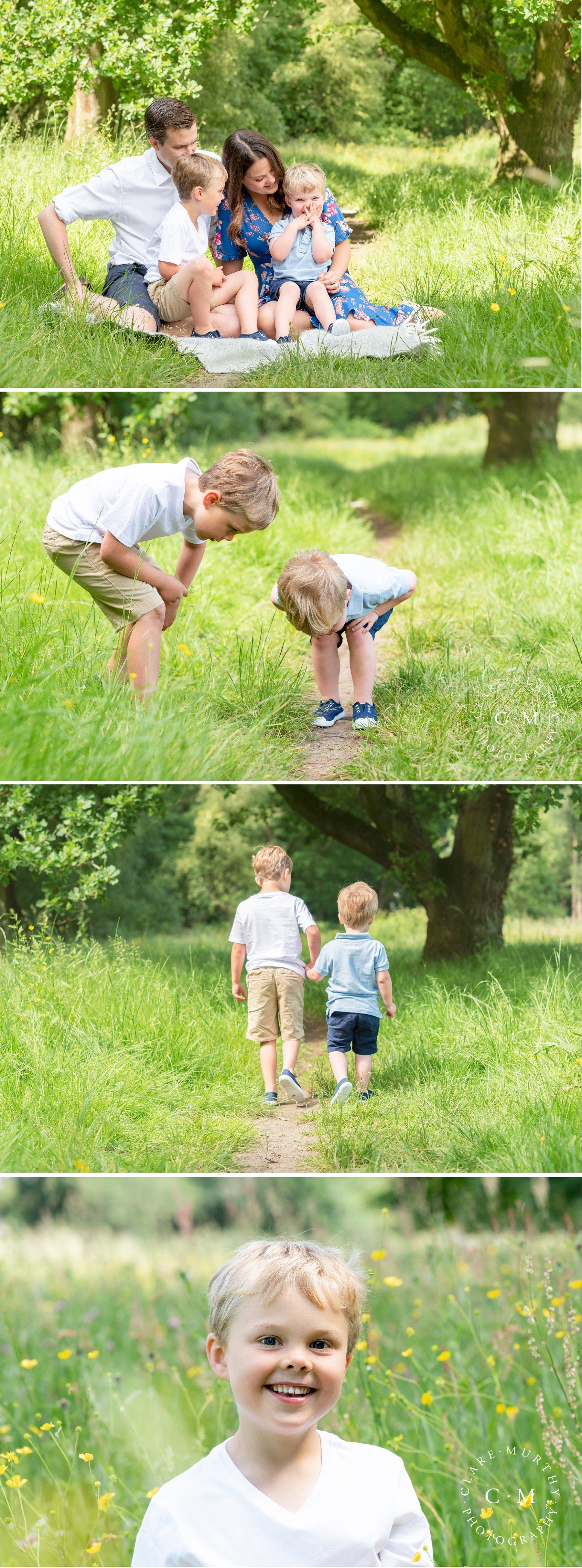 Family Mini Shoots Near Cobham
