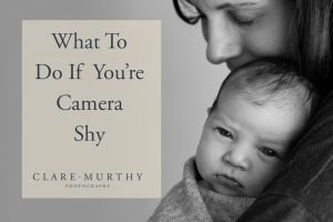 what to do if you're camera shy