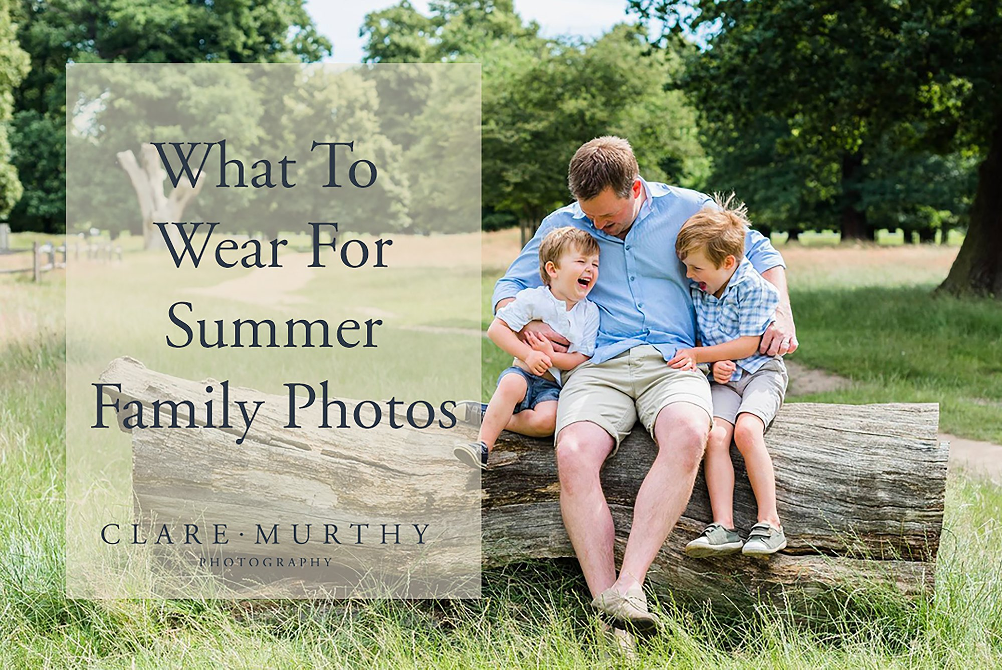 The best clothes to wear for summer family photos