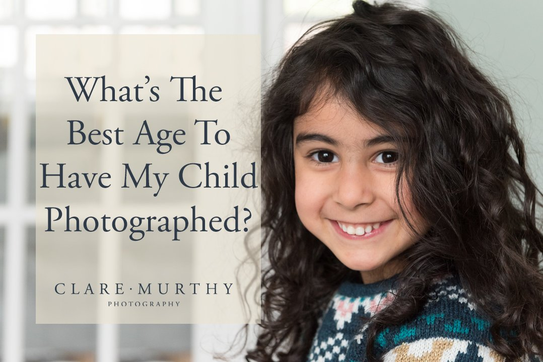 best age child photographed