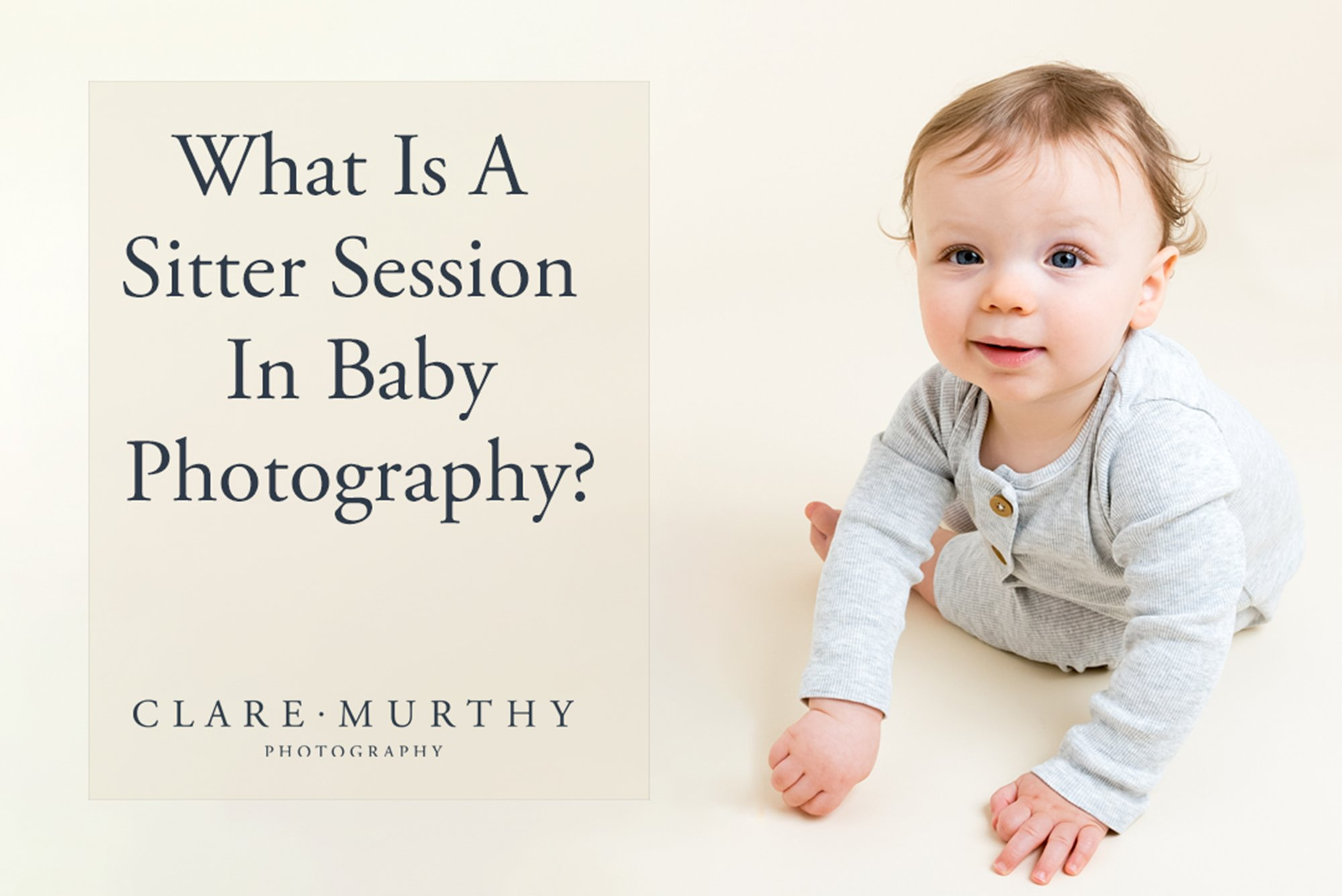 what is a sitter session in baby photography