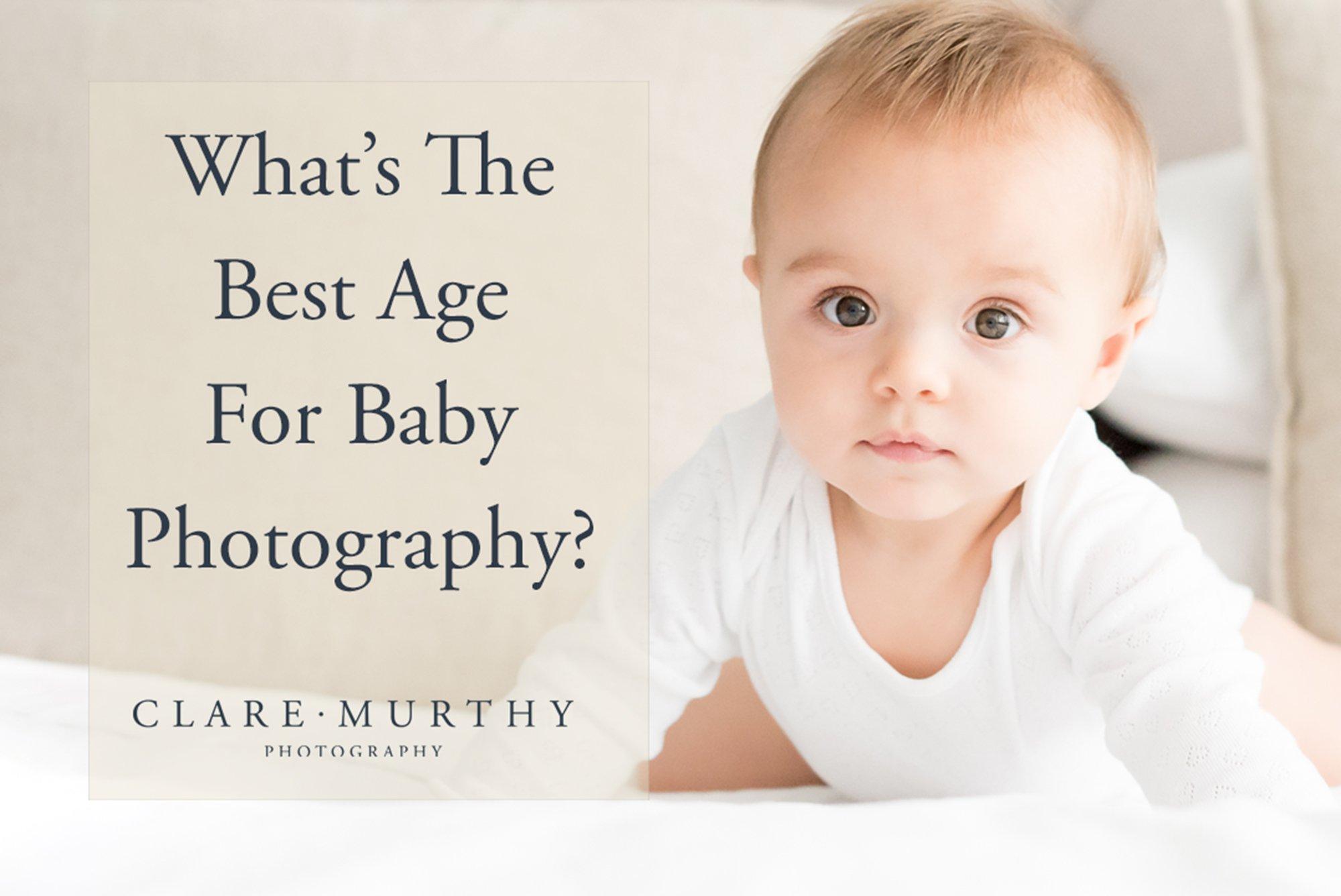 best age baby photos