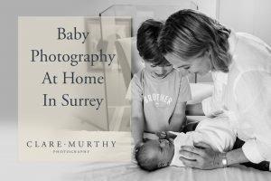 baby at home photo shoot